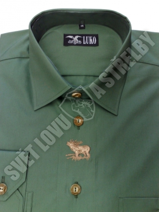 Luko pánská košile č.092227 - dl. rukáv  a9a9c035ec