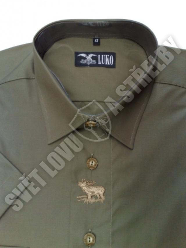 Luko pánská košile č.094124 - kr. rukáv  edc4b32060