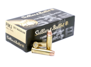 Sellier & Bellot .357 Magnum, FMJ