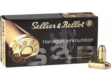 Sellier & Bellot .40 S&W, FMJ