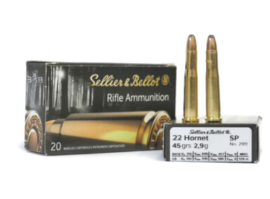 Sellier & Bellot 22 Hornet, SP