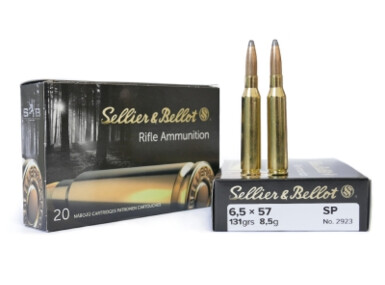 Sellier & Bellot 6,5 x 57, SP