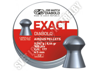 Diabolo JSB Exact 4,5mm - 500ks